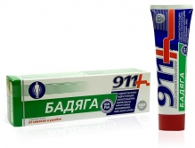 911 Бадяга средство от синяков и ушибов 100мл