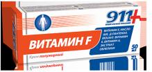 911 Витамин F крем полужирный 50мл
