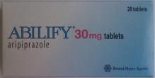 Абилифай таблетки 30мг 28 шт.