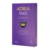 Адриа линзы контактные O2O2 1мес/8,6/-2,25D 6шт.