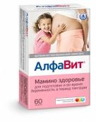 АлфаВит Мамино здоровье витамины  таблетки 60 шт.