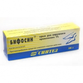 Бифосин 1% 30г крем