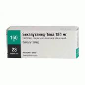 Бикалутамид-Тева 150мг №28 таблетки