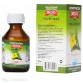 Чистотела масло с витаминно-антиоксидантным комплексом 30мл