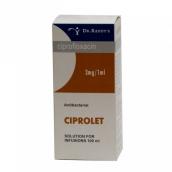 Ципролет раствор для инфузий 2мг/мл 100мл