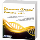 Дамиана форте 0,5г №30 капсулы