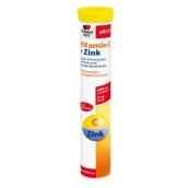Доппельгерц актив витамин С + цинк со вкусом красного апельсина и граната №15 шипучие таблетки