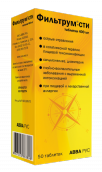 Фильтрум-СТИ 400мг №50 таблетки