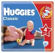 Хаггис подгузники Classic (4) 7-18кг 27шт