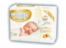 Хаггис подгузники Elite Soft (1) до 5кг 27шт