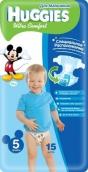 Хаггис подгузники Ultra Comfort (5) 12-22кг для мальчиков 15шт