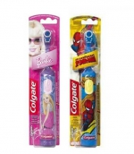 Колгейт щетка зубная детская электрическая от 5 лет Barbie/Spiderman супермягкая