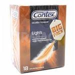 Контекс презервативы Lights особо тонкие 18шт