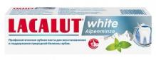 Лакалют паста зубная white Alpenminze 75мл