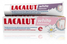 Лакалют паста зубная white Edelweiss 75мл