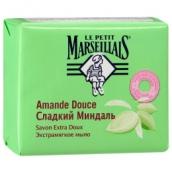 Ле Пти Марселье мыло экстрамягкое сладкий миндаль 90г